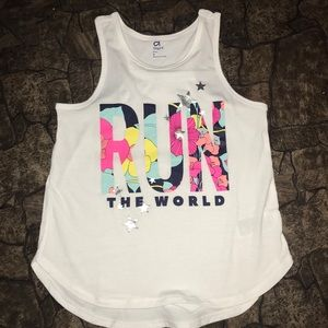 NWT Gap girls Sz M tank